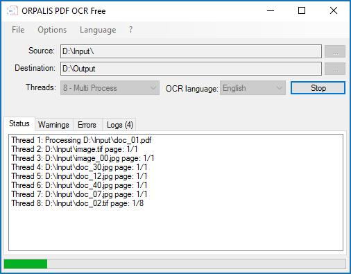 ORPALIS PDF OCR Free Edition